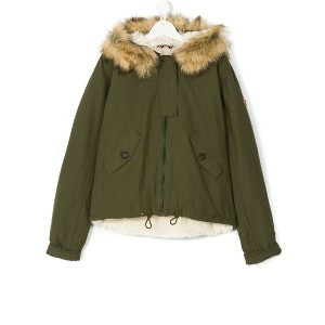 American Outfitters Kids フーデッドコート - グリーン