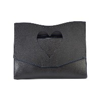 Proenza Schouler Medium Cut Out Curl Clutch - ブラック