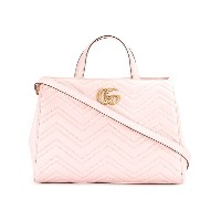 Gucci GG Marmont トートバッグ - ピンク&パープル
