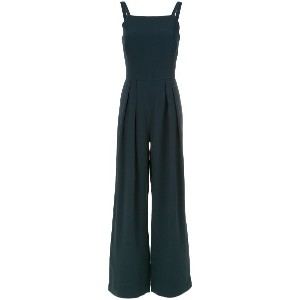 Andrea Marques straight neck jumpsuit - ブルー