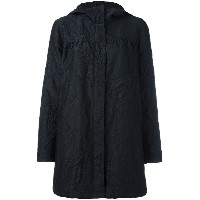 Moncler Gamme Rouge ペイズリー柄 パーカーコート - ブラック