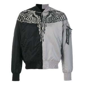 Marcelo Burlon County Of Milan Talca Alpha MA-1 ボンバージャケット - ブラック