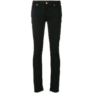 7 For All Mankind ストレッチ スキニージーンズ - ブラック