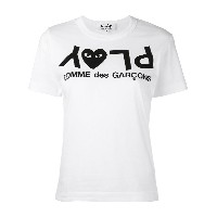 Comme Des Garçons Play ロゴプリント Tシャツ - Unavailable