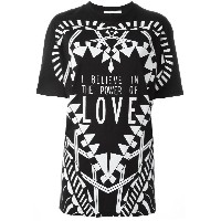 Givenchy I Believe in the Power of Love Tシャツ - ブラック