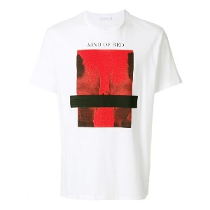 Neil Barrett Kind of Red Tシャツ - ホワイト