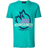 Dsquared2 Mountaineer ロゴTシャツ - ブルー