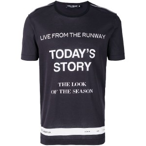 Dolce & Gabbana Today's Story Tシャツ - ブルー