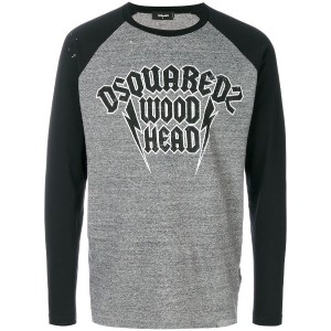 Dsquared2 Wood Head カットソー - グレー