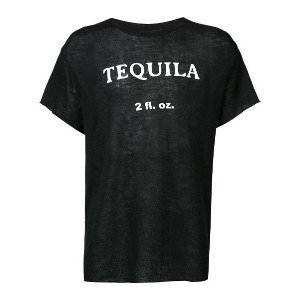 The Elder Statesman Tequila Tシャツ - ブラック