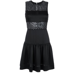 Gloria Coelho short dress - ブラック