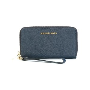 Michael Michael Kors Jet Set Travel 長財布 - ブルー