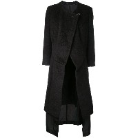 Comme Des Garçons Pre-Owned レイヤードコート - ブラウン