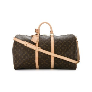 LOUIS VUITTON PRE-OWNED Bandouliere モノグラム ボストンバッグ - ブラウン