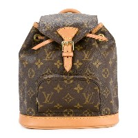 Louis Vuitton Pre-Owned Montsouris バックパック ミニ - ブラウン