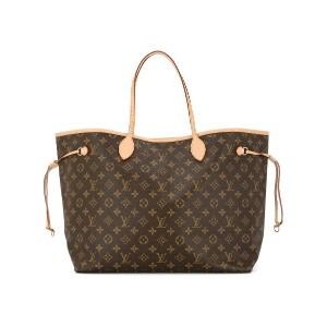 Louis Vuitton Pre-Owned ネヴァーフル GM トートバッグ - ブラウン