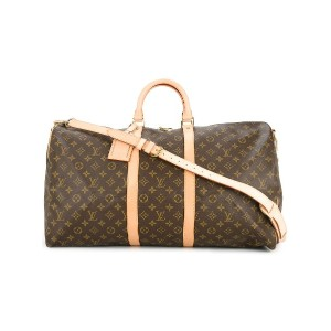 LOUIS VUITTON PRE-OWNED キーポル バンドリエール 55 ボストンバッグ - ブラウン