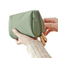 ithinkso BELL MAKE-UP POUCH コンパクトサイズ 化粧ポーチ (ジェイド)