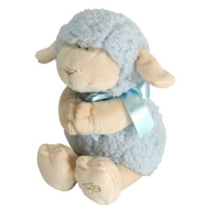 Stephan Baby Ultra Soft and Huggable Musical Praying Woolly Lamb, Blue by Stephan Baby