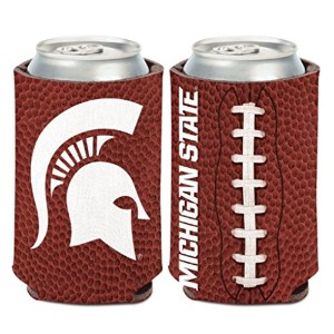 MSU NCAA Michigan State Spartans 1パック12オンス両面Can Cooler