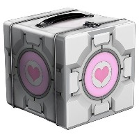 Portal 2 Companion Cube Tin Lunch Box by Portal 2
