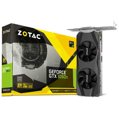 【送料無料】【お取寄せ商品】ZOTAC GeForce GTX 1050 Ti 4GB LP ZTGTX1050TI-4GD5LP/ZT-P10510E-10L