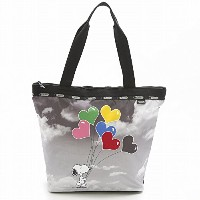 LeSportsac レスポートサック トートバッグ 3247 HAILEY TOTE G061 SNOOPY SKY [並行輸入商品]