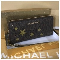 (マイケル マイケルコース) MICHAEL MICHAEL KORS 財布 長財布/ギフトBOX付き Illustration Large Travel Continental Wallet ...
