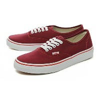 [バンズ] VANS AUTHENTIC (POP CHECK) RHUBARB/BITTERSWEET オーセンティック vn0004mkii0 27.5cm