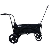GO-GO BABYZ SINGLE FOLDING WAGON STROLLER ASTM certified with One Seat, Push Handle and Rear Foot...