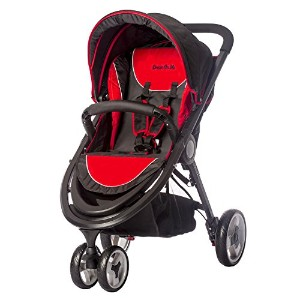 Dream On Me Venus Ultra-Stroller, Red by Dream On Me