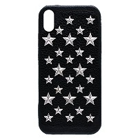 enchanted.LA STAR STUDDED LEATHER COVER CASE #BRILLIANT STARS エンチャンテッドエルエースタースタッズレザーケース iPhone8 /...