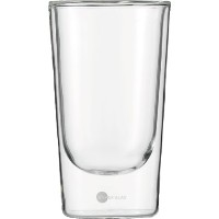 Jenaer Glas Hot and Cool Collection Double Wall Tumbler, 12-Ounce, Set of 2 by Jenaer Glas