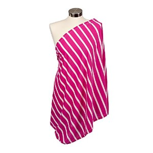 Itzy Ritzy Nursing Happens Infinity Breastfeeding Scarf, Pink Stripe by Itzy Ritzy [並行輸入品]