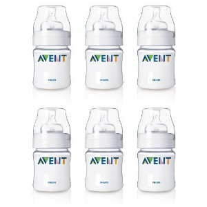 Philips AVENT 4 Oz. BPA Free Bottles - 6 Pack by Philips Avent [並行輸入品]