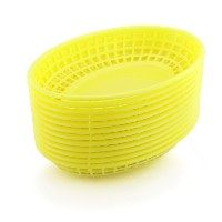 New Star 44188 Fast Food Baskets, 9.25 by 6-Inch, Yellow, Set of 12 by New Star [並行輸入品]