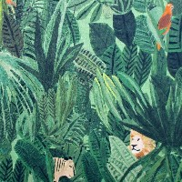 リバティ生地 Jungle Tapestry 1228158-TD-18CT 【×50cm】