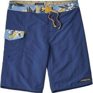 パタゴニア メンズ 水着 水着 Patch Pocket Wavefarer 20in Board Short - Men's Superior Blue