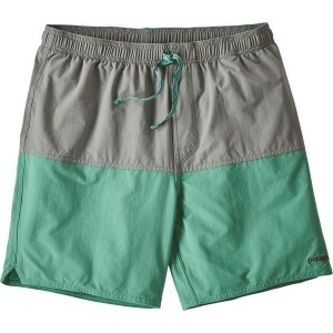パタゴニア メンズ 水着 水着 Stretch Wavefarer 17in Volley Short- Men's Beryl Green