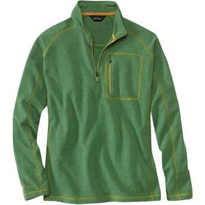 オービス メンズ パーカー&スウェット アウター Heavyweight Dri Release 1/4-Zip Sweater - Men's Heather Green