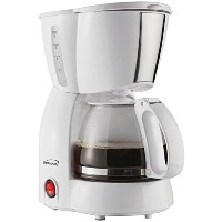 4 CUP COFFEE MAKER WHT