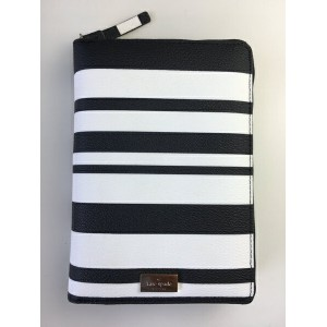 kate spade/ケイトスペード 2018年最新システム手帳 wellesley zip around personal organizer bonbon stripe WLRU2735 ...