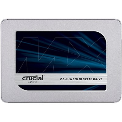 Crucial MX500 CT250MX500SSD1 250 GB Internal SSD (3D NAND, SATA, 2.5 Inch)