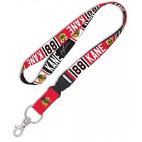 Patrick Kane 88 Chicago Blackhawks Lanyard NHL