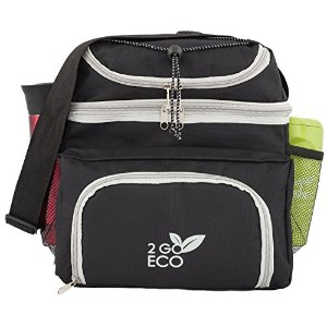 2goeco Soft Sided Lunch Cooler | Insulated Bento Meal Prepコンテナオーガナイザーバッグ|大人用メンズレディースExtra Large...