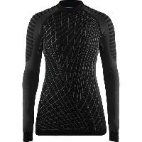 クラフト レディース サイクリング スポーツ Active Intensity CN Long-Sleeve Top - Women's Black/Granite