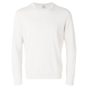 Eleventy classic fitted sweater - グレー