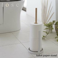 tosca/トスカ(山崎実業) トイレットペーパースタンド トスカ toilet paper stand トイレットペーパーホルダー/トイレ収納