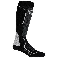 アイスブレーカー レディース スキー・スノーボード【Icebreaker Ski+ Medium Over the Calf Sock】Black / Oil / Silver