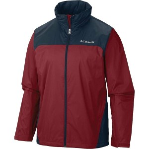コロンビア メンズ アウター レインコート【Columbia Glennaker Lake Rain Jacket】Mountain Red / Graphite